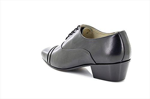 Heel Montecatini Mens Patent Lace REYES Cuban 9 UK Shoes Black Up IwRwfTq5W