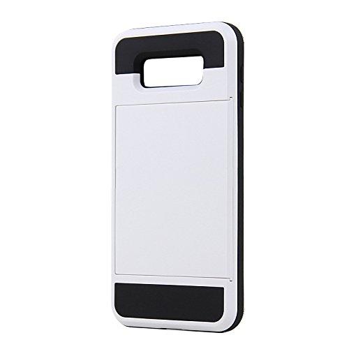 Slim Shockproof Case for Samsung A8 (White) - 2
