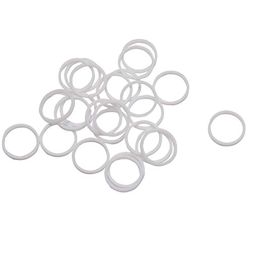 (Edelmann 70004 Replacement Teflon Seals for Type II Power Steering Systems - 25 Pack )