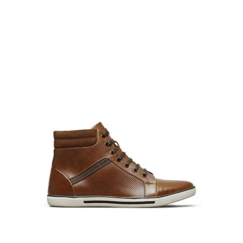 Kenneth Cole REACTION All Crown Up Sneaker Cognac