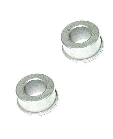 Pack of 2 Flanged Solid Steel Spanner Bushings Spacer Reducer 125