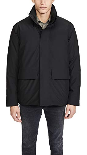 Norse Projects Men's Ystad Down Gore Tex Jacket, Black, X-Large