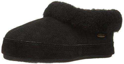 Acorn Women's Oh Ewe Slip-On Loafer, Coal, 10 M US