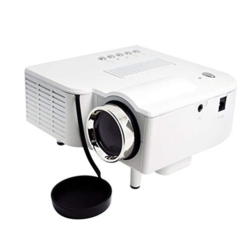 ETbotu Mini Portable 1080P Projector Home Cinema Theater HDMI Interface Home Entertainment Device White AU Plug from ETbotu