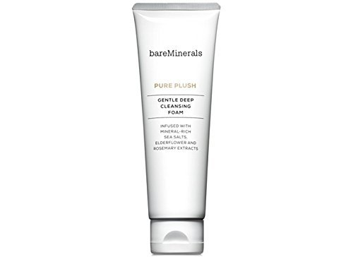 bareMinerals Pure Plush Gentle Deep Cleansing Foam, 4.2 Ounce - Deep Cleansing Foam