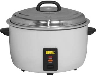 Buffalo Commercial Rice Cooker - 23Ltr 2.95kW - high quality and heavy duty kitchen appliances