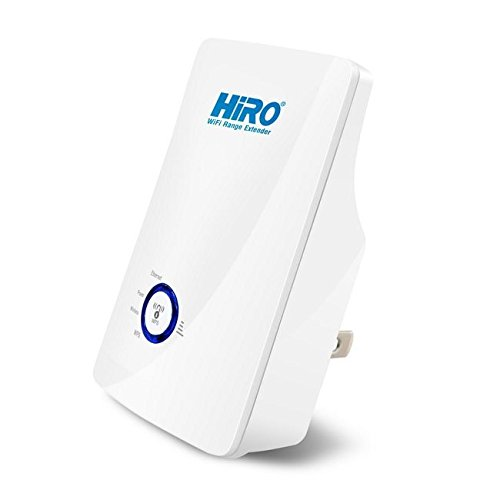 HiRO H50291 11n 300Mbps 802.11b/G/N Wi-Fi WLAN High Power Signal Booster Repeater Range Extender by HIRO (Image #1)