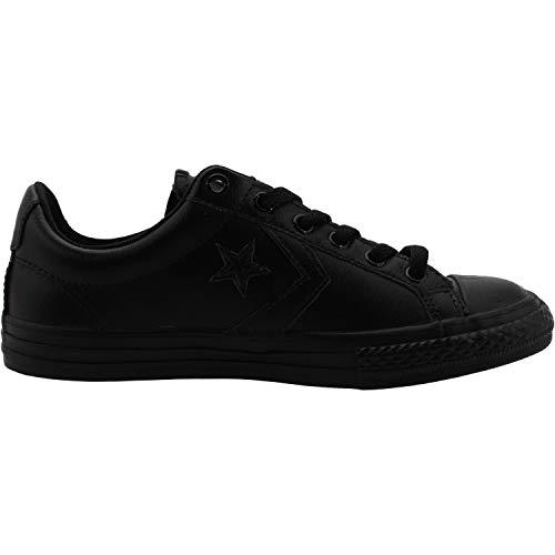 black – Ginnastica Ox Star black Player Unisex Scarpe black Bambini Nero Lifestyle 001 Basse Converse Da qzBc77