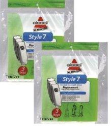 Vacuum Cleaner Bags GENUINE BISSELL STYLE 7 3 BAGS IN A PACK VACUUM CLEANER BAGS