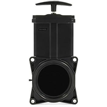 Hardware Included 3 Motorhome RV Sewage Waste Valve On//Off Sewer Valve