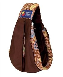Amazon Com Baba Slings Boutique Baby Carrier Brown Batik Child