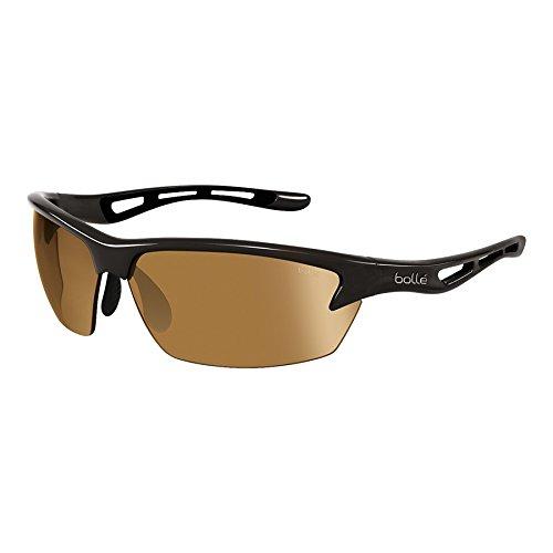 Bolle Bolt Sunglasses, Shiny Black/Modulator V3 Golf Oleo - Modulator Bolle