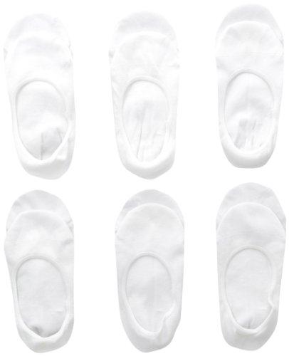 Jefferies Socks Girls  Seamless Footie Socks  (Pack of 6)