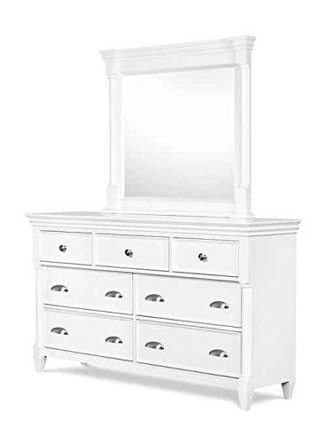 Amazon Com Magnussen Furniture Dresser With Mirror In White Finish