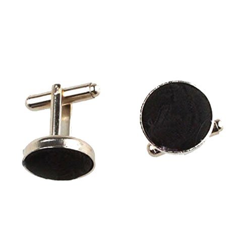 Cufflinks Paisley Occasions Various Set of Tie Square Patterned Men Pocket Black w4TST1WIqR