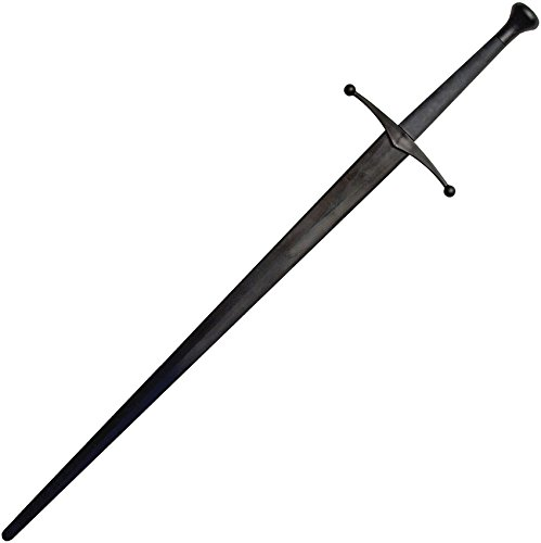 (Red Dragon Armoury Synthetic Sparring Longsword - Black Blade &)