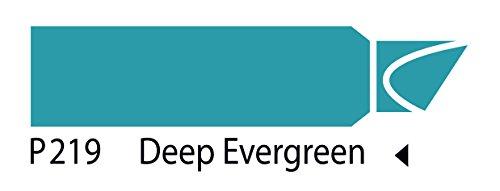 The Original Chartpak AD Marker, Tri-Nib, Deep Evergreen, 1 Each (P219) by AD Marker (Image #2)