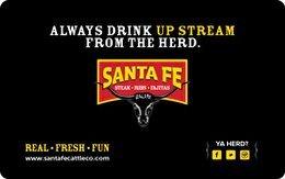 Santa Fe Cattle Co. Gift Card ($50)