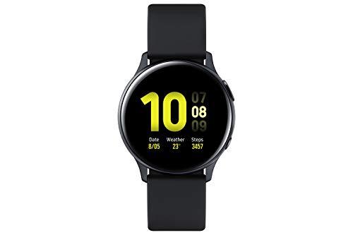 Samsung Galaxy Watch Active2, Fitnesstracker van aluminium, groot display, duurzame batterij, waterdicht, 44 mm…
