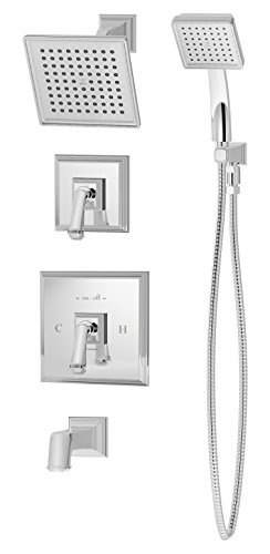 Symmons 4206-1.5-TRM Oxford tub/shower trim with hand shower & lever handle ()