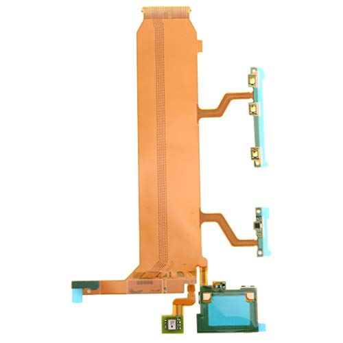 ZHANGTAI Sparts Parts Motherboard (Power & Volume & Mic) Ribbon Flex Cable for Sony Xperia Z Ultra / XL39h / C6806 Repair Flex Cable