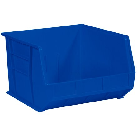 Quantum QUS270BL Blue Ultra Stack and Hang Bin, 18