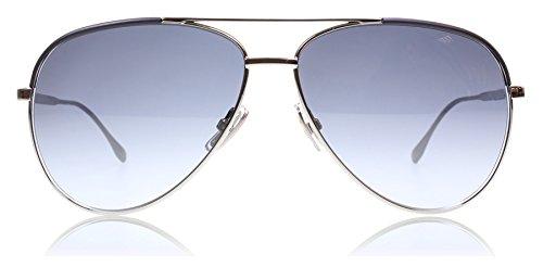 Hugo Boss AGL Gunmetal - black 0782S Aviator Sunglasses Lens