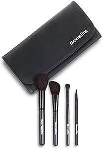 Sensilis Manta de brochas de maquillaje profesional: Amazon.es: Belleza