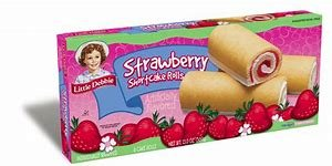 Strawberry Shortcake Rolls - Little Debbie Snack Cakes(2 Boxes) BONUS 1 Little Debbie HONEY BUN (Strawberry Shortcake Rolls)