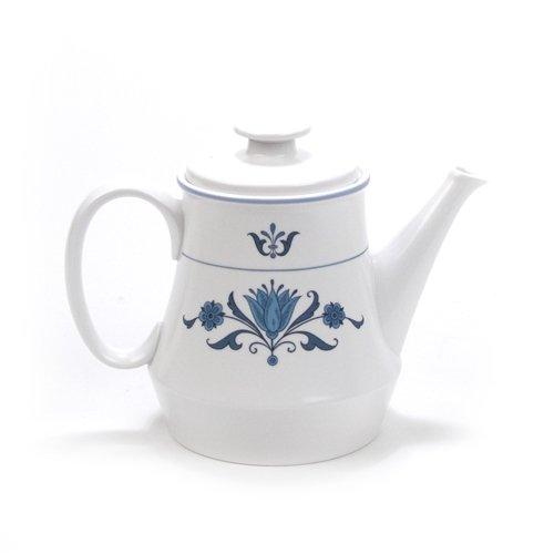 - Blue Haven by Noritake, China Coffee Pot