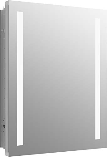 - Kohler 99007-TLC-NA Verdera Lighted Medicine Cabinet, Aluminum
