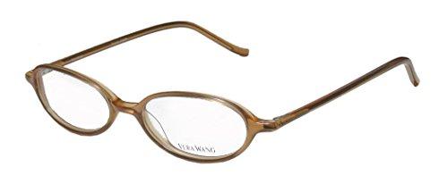 Vera Wang V19 Womens/Ladies Optical Prestigious Brand Designer Full-rim Eyeglasses/Glasses (48-17-136, Transparent Light - Brands Optical Frames