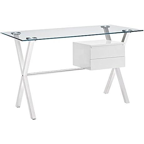 Modway Stasis Office Desk White