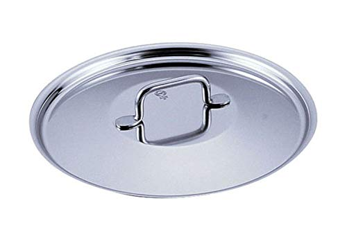 Sitram Catering 9.5-Inch Commercial Stainless Steel Lid