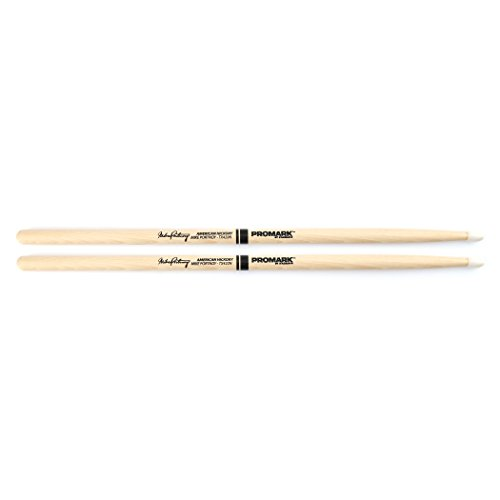 - Promark TX420N American Hickory Mike Portnoy Autograph Series Nylon Tip, Single Pair