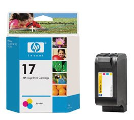 C6625AN HP BR DESKJET 840C, 1-#17 SD TRI COLOR INK
