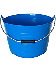 Red Gorilla Horse Feed Bucket (38.71pint) (Blue)