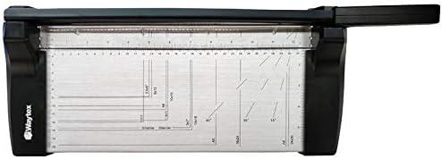 WAYTEX per 8 fogli in metallo A4 Forbici da taglio