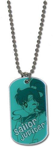 Sailor Moon Sailor Jupiter Dog Tag Necklace
