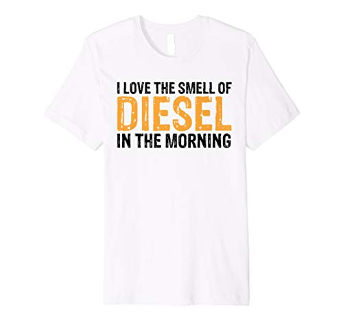 (Trucker Shirt Smell Of Diesel Tees Truck Driver Funny Gift)