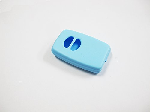 KEY Shirt Silicone Remote Case Cover Blue for Toyota Prius 2011 2012 3rd Fob Keyless