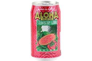 aloha maid strawberry guava drink - 11.5oz [6 units] (073366118122) - Beverage Unit