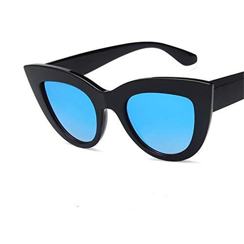 Ligero Espejo Fliegend Mujer Sol UV400 Hombre Gafas Gafas C5 Gafas Vintage Lente Cat de de Súper Sol Polarizadas Unisex Retro Eye qqHT5Wrw6x