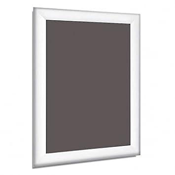 Aluminio A4 A3 A2 A1 A0 mitred Snap blanco marcos de pared carteles ...