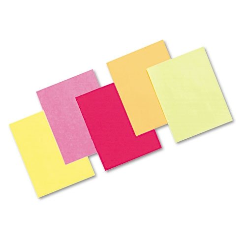 Hyper Assortment Colors (Pacon Bond Paper, 8 1/2 inches by 11 inches, Hyper Assortment, 500 Sheets (101135))