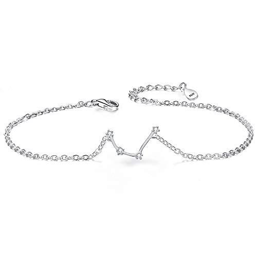 - BriLove 925 Sterling Silver Bracelet -