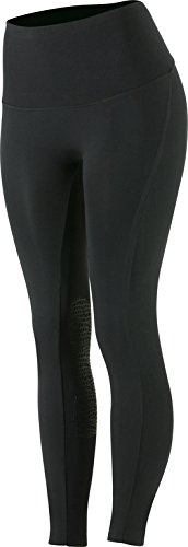 d6757a8b0 Horze Bianca Women s UV Summer Superlight Silicone Knee Patch Tights Black  22