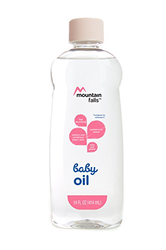 Mountain Falls Baby Oil, Original, Compare to Johnson's, 14 Fluid Ounce