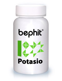 Bephit Potasio K Gluconato 790 Mg Suplemento - 60 Cápsulas