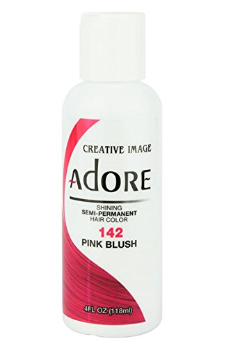 Adore Semi-Permanent Haircolor #142 Pink Blush 4 Ounce (118ml)